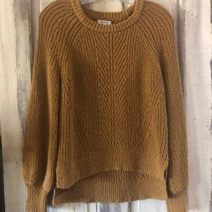 Madewell balloon sleeve pullover sweater - Small